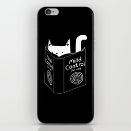 Mind Control 4 Cats iPhone Skin