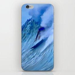Surfing the World's Biggest Ocean Waves iPhone Skin