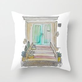 Little Italian House Throw Pillow