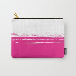 Solid Color Blocks - Neon Pink Carry-All Pouch