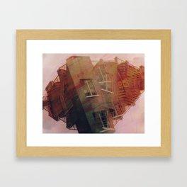 crushed Framed Art Print