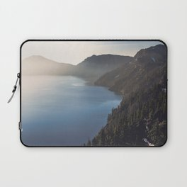 First Light at the Lake Laptop Sleeve