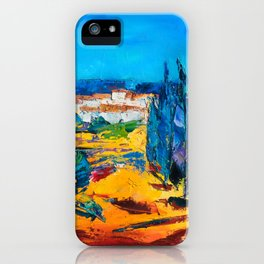 Sunny Day In Provence iPhone Case