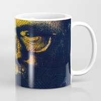 howl Mugs featuring Howl by Alec Goss
