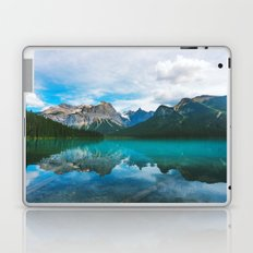 The Mountains and Blue Water Laptop & iPad Skin