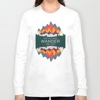 utah Long Sleeve T-shirts featuring Wandering Utah by StateofMindDesign