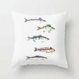 Fiskar Throw Pillow