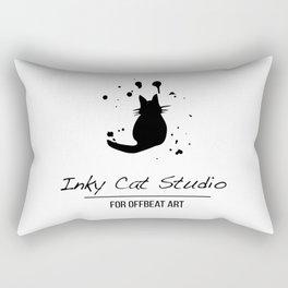 Inky Cat Studio Rectangular Pillow