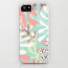 Matisse Pattern 005 iPhone Case