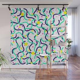 Snakes vs Suns Wall Mural