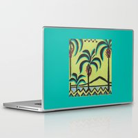 palm trees Laptop & iPad Skins featuring Palm Trees by Abundance