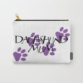 Dachshund Mum Carry-All Pouch