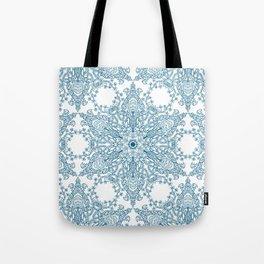 Spring Garden Mandala Tote Bag