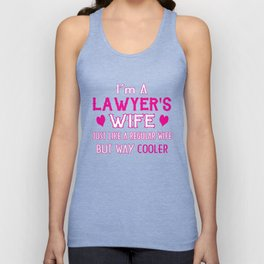 Lawyer's Wife Unisex Tank Top