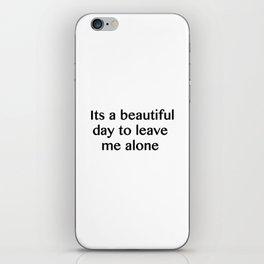 A Beautiful Day iPhone Skin