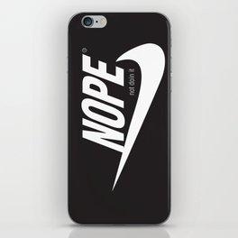 NOPE iPhone Skin