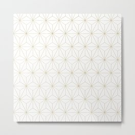 Geometric Glamor #1 #geo #decor #art #society6 Metal Print