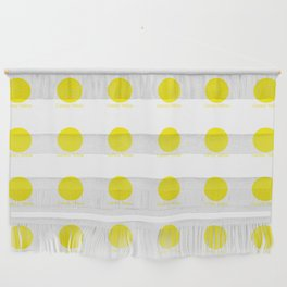 Canary Yellow Wall Hanging