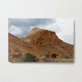 Buttes of New Mexico - On the Road to Santa Fe, No. 6 Metal Print