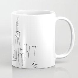 I Dream Of A Different Skyline Coffee Mug