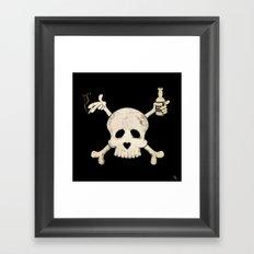 Cigarettes & Alcohol  Framed Art Print