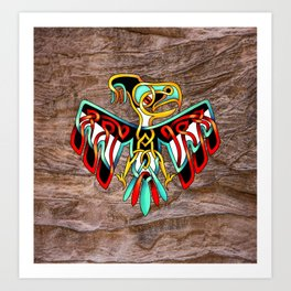 Thunderbird-knot Art Print