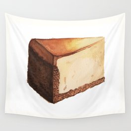 Cheesecake Slice Wall Tapestry