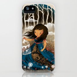 There Once Was A Girl In A Whimsical Land iPhone Case