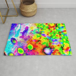 Lighting Experiment 47 - Psychedelic Bubbles Rug