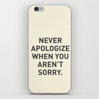 motivational iPhone & iPod Skins featuring Motivational by Motivational