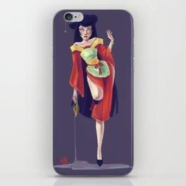 China Doll iPhone Skin