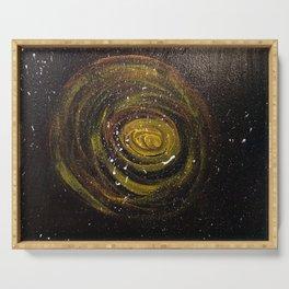 My Galaxy (Mural, No. 10) Serving Tray