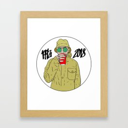 Mac Miller R.I.P 1992 - 2018 Framed Art Print
