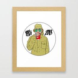 Mac Miller R.I.P 1992 - 2018 Framed Art Print