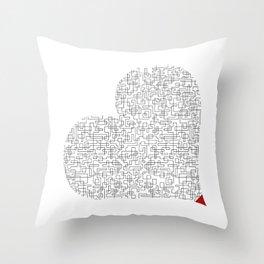 Heart (16) Throw Pillow