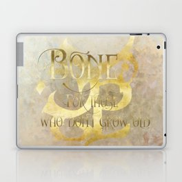 BONE for those who don't grow old. Shadowhunter Children's Rhyme. Laptop & iPad Skin
