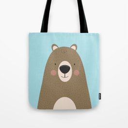 Bears Are Friendly Tote Bag