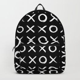 Hugs and kisses OXXOXXOXX in Black Backpack