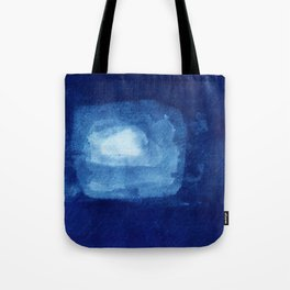 squaring the moon Tote Bag