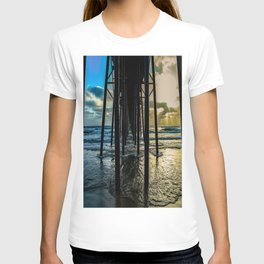 Sky Painting (Oceanside Pier) ~ 10-2015 T-shirt