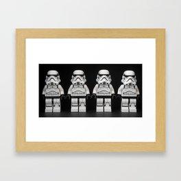Storm Parade Framed Art Print