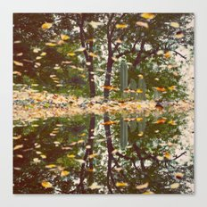 Grave Autumn Canvas Print