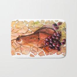 Pear & Grapes Fresco Bath Mat