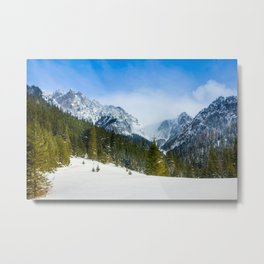 Winter Tatra Mountains Metal Print