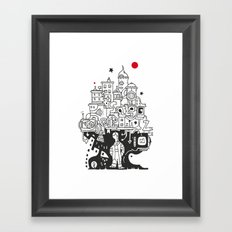 Plant a tree Framed Art Print