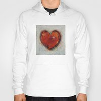 passion Hoodies featuring Passion by Michael Creese