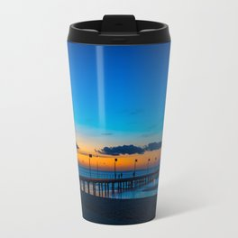 Frankston Pier Sunset Travel Mug