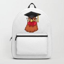 Graduate Chicken Class of 2019 Graduation Backpack