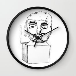 Jack in the Box Wall Clock