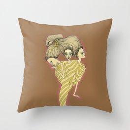 Dissociative Identity Disorder Throw Pillow